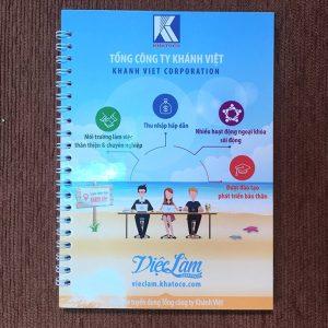 Sổ tay lò xo công ty Khánh Việt