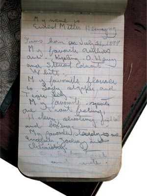 Một ghi chép của Hemingway