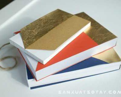 Hướng dẫn làm sổ xé handmade đơn giản