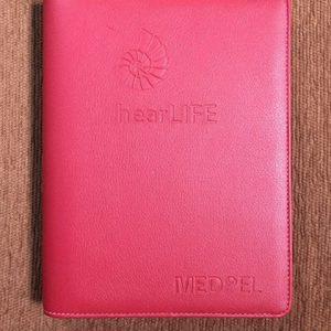 Sổ tay bìa còng của công ty hearLIFE