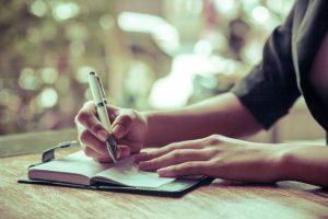 Lợi ích sức khỏe từ việc viết sổ tay