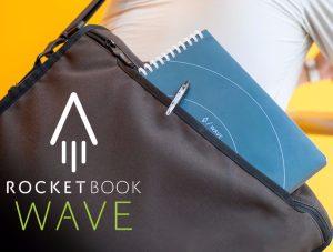 Rocketbook – Sổ tay có thể xóa trắng tinh bằng lò vi xóng