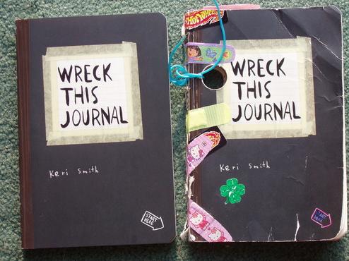 Sổ tay sáng tạo :Wreck This Journal
