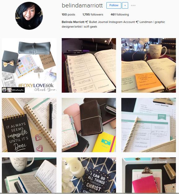Lấy Cảm Hứng Ghi Chép Bullet Journal Từ Những Tài Khoản Instagram Này 5