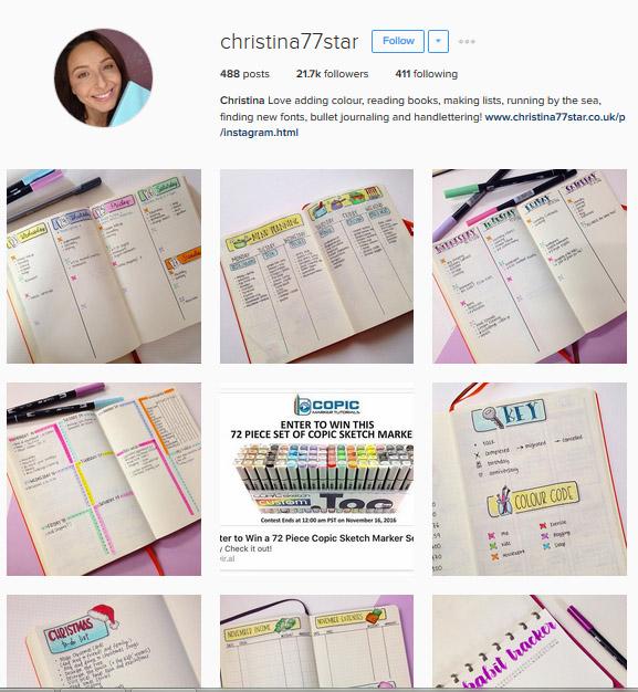Lấy Cảm Hứng Ghi Chép Bullet Journal Từ Những Tài Khoản Instagram Này 8
