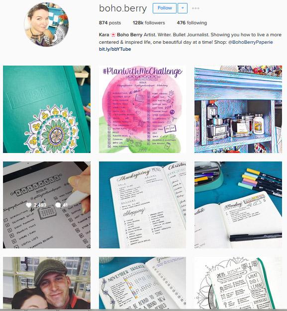 Lấy Cảm Hứng Ghi Chép Bullet Journal Từ Những Tài Khoản Instagram Này 2