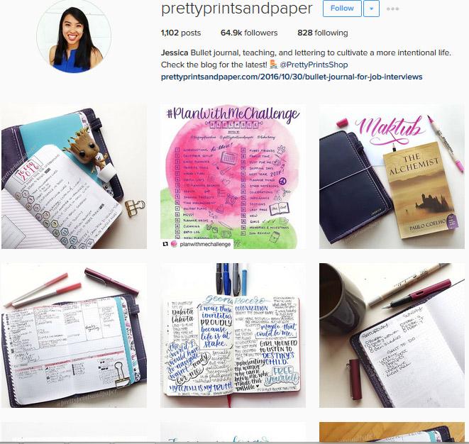 Lấy Cảm Hứng Ghi Chép Bullet Journal Từ Những Tài Khoản Instagram Này 7