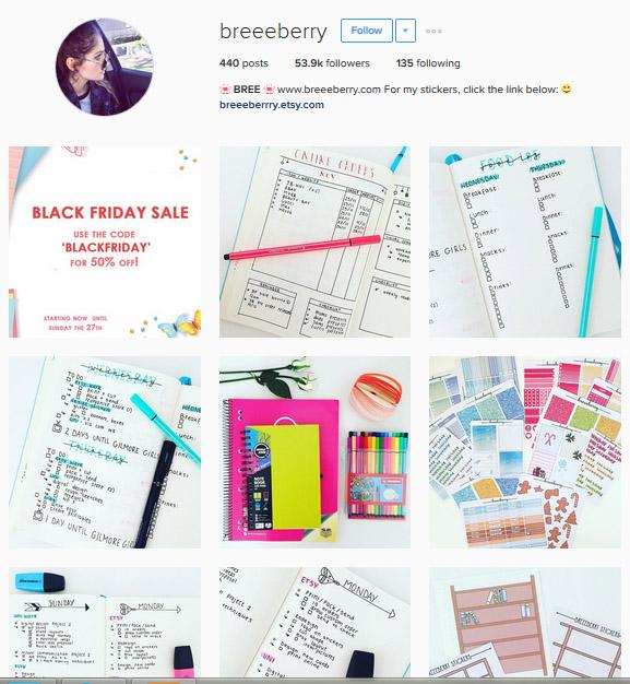 Lấy Cảm Hứng Ghi Chép Bullet Journal Từ Những Tài Khoản Instagram Này 6