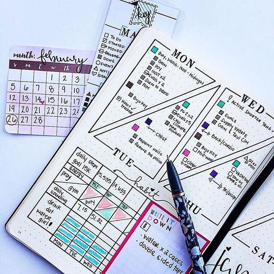 Cách Lập Kế Hoạch Cá Nhân | Cách Sử Dụng Sổ Tay Planner
