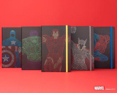 Phiên Bản Sổ Tay Marvel Supper Heros Của Moleskine