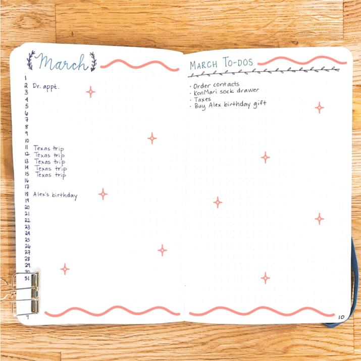 Bullet Journal Là Gì ? Hướng Dẫn Sử Dụng Bullet Journal 7