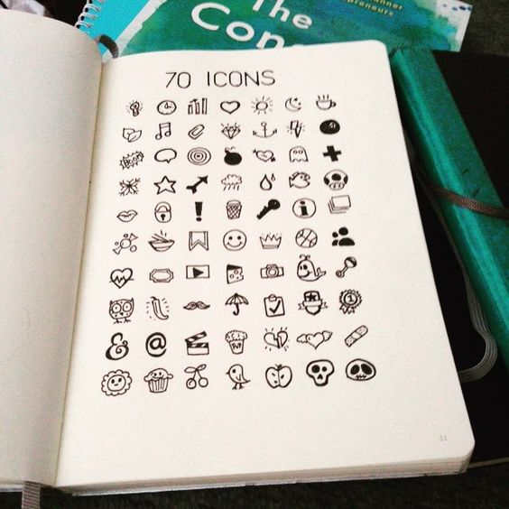 Icon - Cách Siêu Đơn Giản Để Nâng Cấp Cái Sự Đẹp Cho Ghi Chép Của Bạn 1