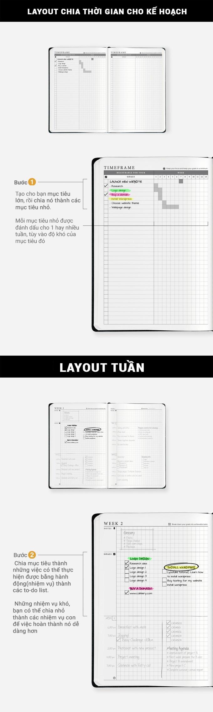 Sổ Tay Kế Hoạch The Craft Planner 2.0 Có Gì Mới 1