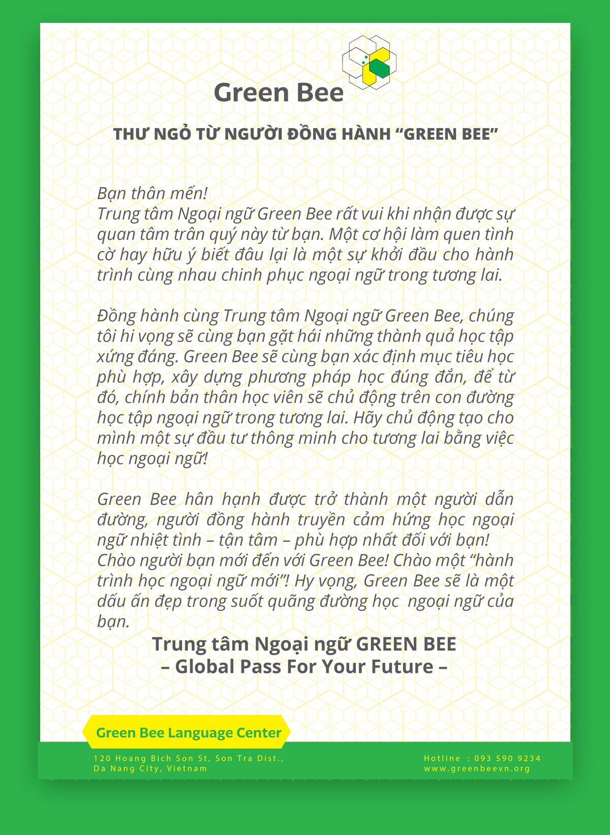 Thiết Kế Sổ Tay Anh Ngữ Green Bee 10