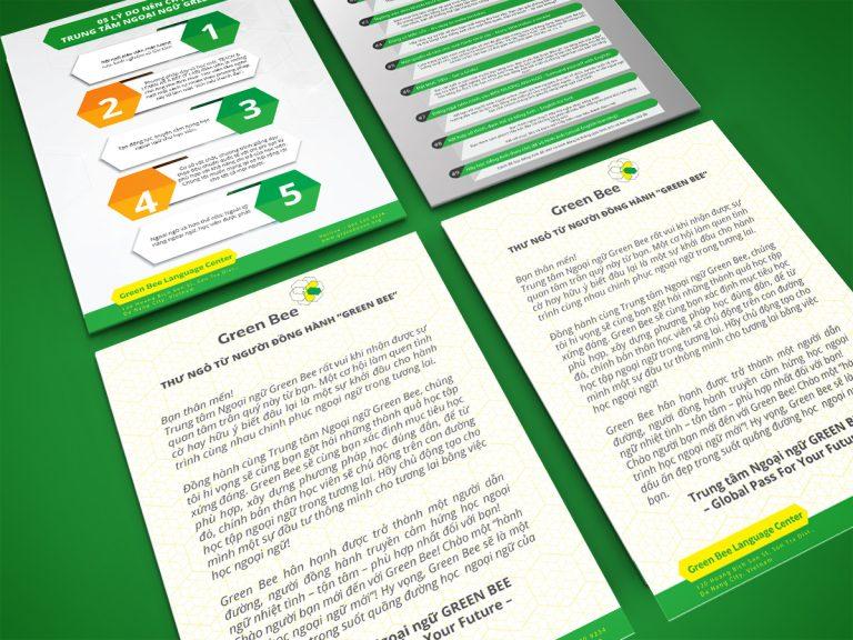 Thiết Kế Sổ Tay Anh Ngữ Green Bee 1