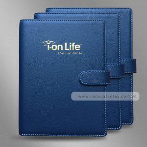 Sổ Bìa Còng Ion Life