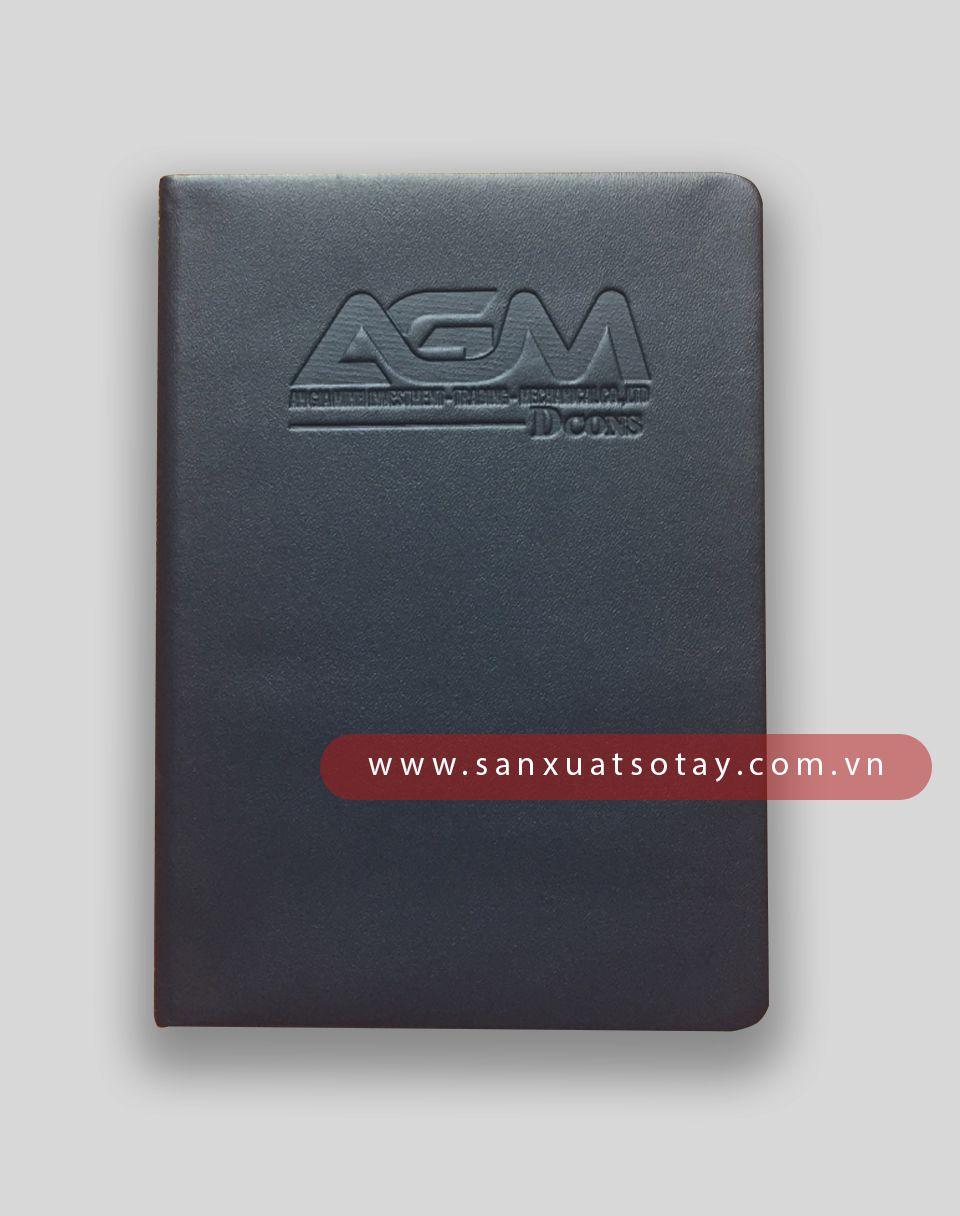 Sản Xuất Sổ Bìa Da AGM 2