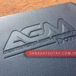 Sản Xuất Sổ Bìa Da AGM 7