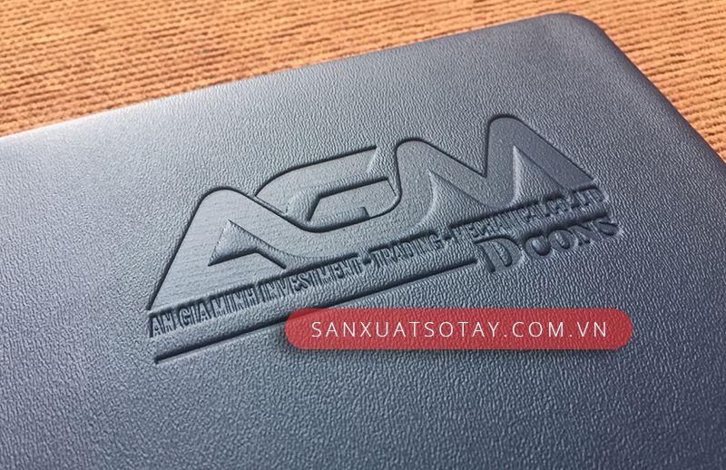 Sản Xuất Sổ Bìa Da AGM 11