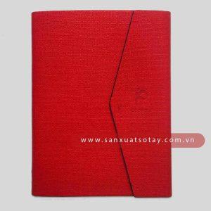 Bìa Sổ Da Pu Pt Event (Màu đỏ)