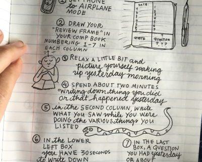 Thiết lập cách viết nhật ký học tập sao cho khoa học