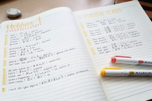 Học tiếng Nhật dễ dàng thông qua viết nhật ký bằng tiếng Nhật