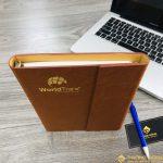 Sổ Tay Bìa Còng WORLDTRANS Mã 210 9