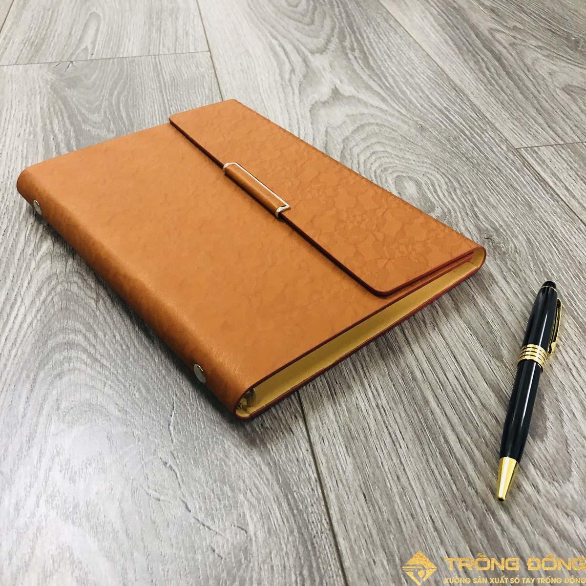 Phần bìa da của mẫu sổ tay có sẵn LSA5 Lắp Chéo B