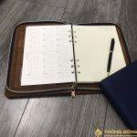 Sổ Tay Bán Chạy - Sổ Lăn Sơn A5 Còng 1.5cm - LSA5 Khóa Kéo 1B 9