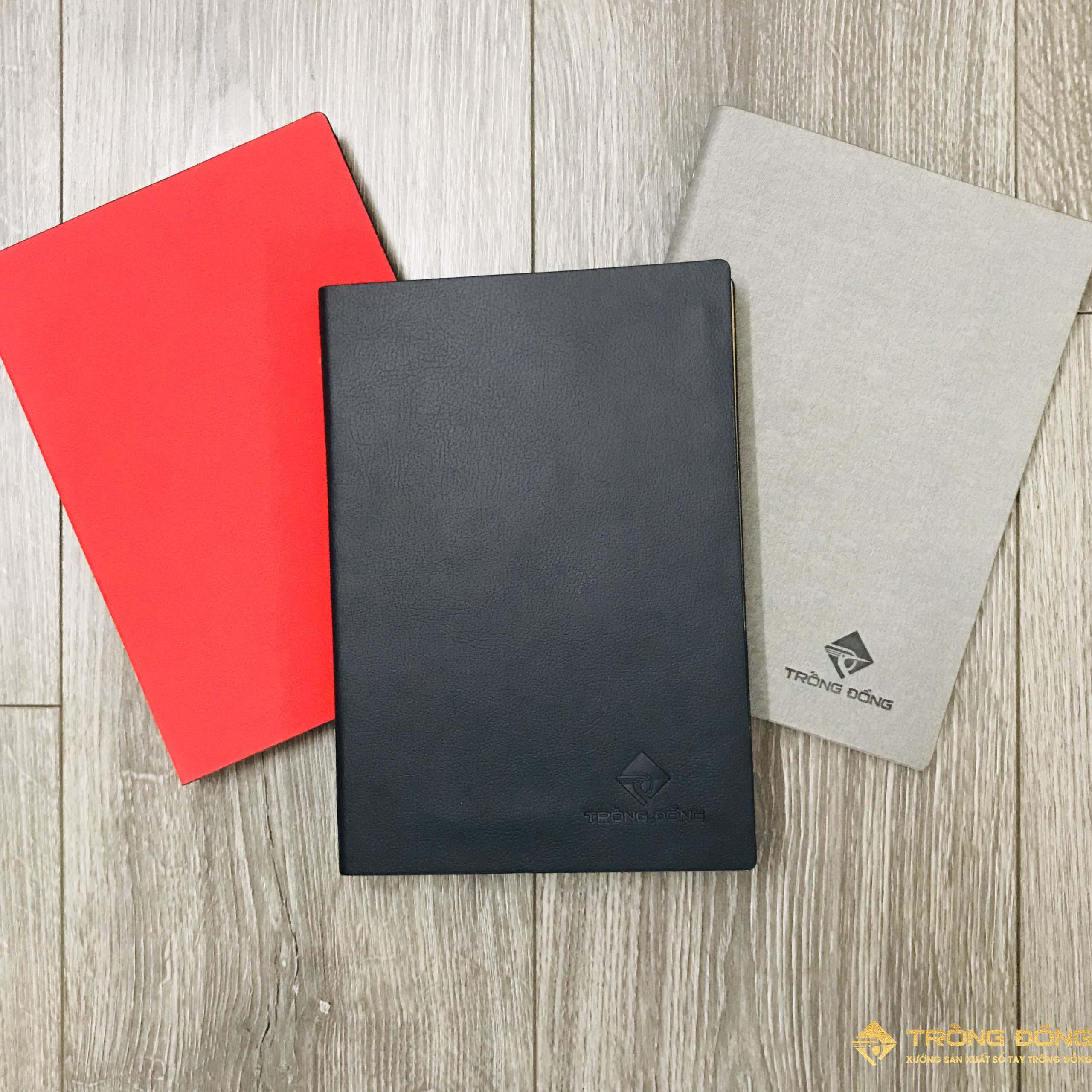 Mẫu sổ bìa da có sẵn mẫu LSA5-G2B