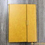 Sổ Tay Bán Chạy – Sổ Lăn Sơn A5 Gập 3 Màu Vàng – LSA5 01B