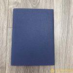 Sổ Tay Bán Chạy – Sổ Lăn Sơn A5 Gập 3 Màu Xanh – LSA5 01B