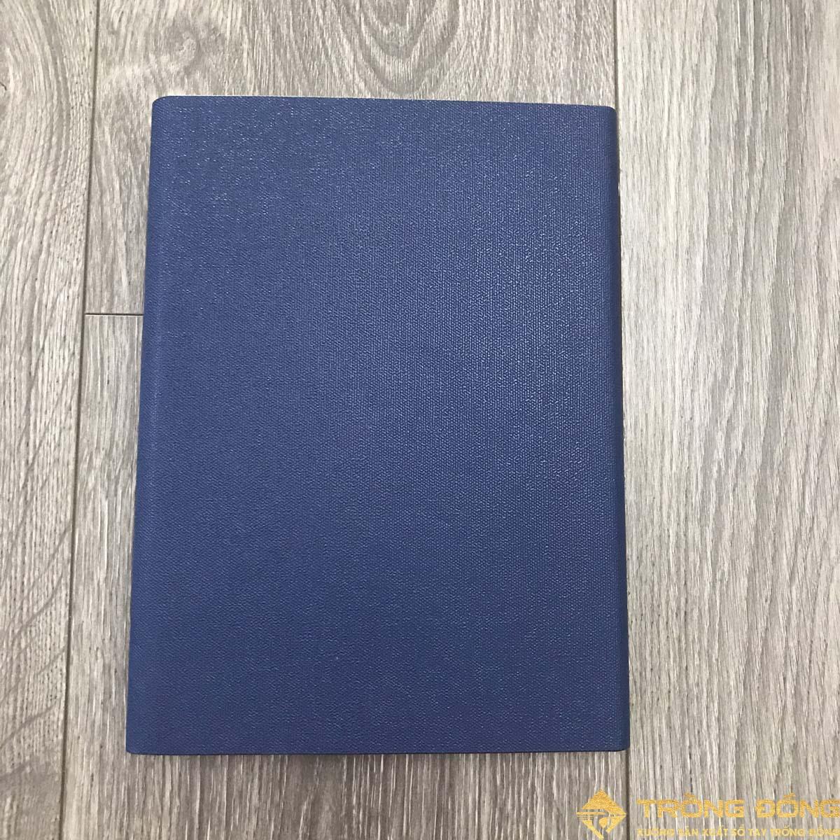 Mặt sau của sổ bìa da có sẵn LSA5-01B