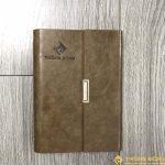 Sổ Tay Bán Chạy - Sổ Lăn Sơn A6 Gập 3 Còng 1,5cm - LSA6 - 01B 9