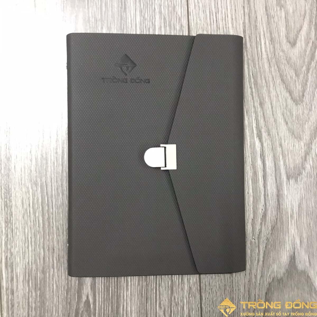 Mặt trước của sổ bìa da LSA5 BAO THƯ 2B