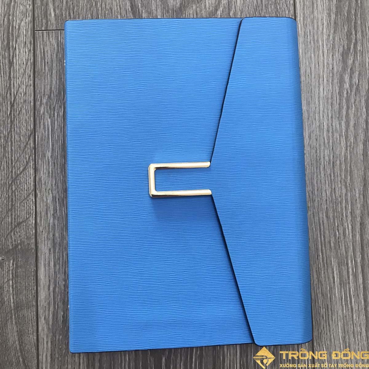 Mẫu sổ bìa da PU có sẵn nắp gập mẫu LSA5 BAO THƯ 1B cao cấp