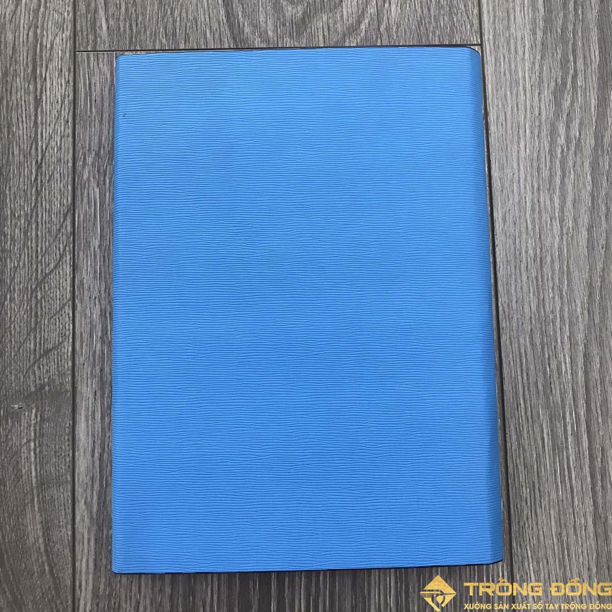 Mặt sau của mẫu sổ bìa da có sẵn LSA5 BAO THƯ 1B