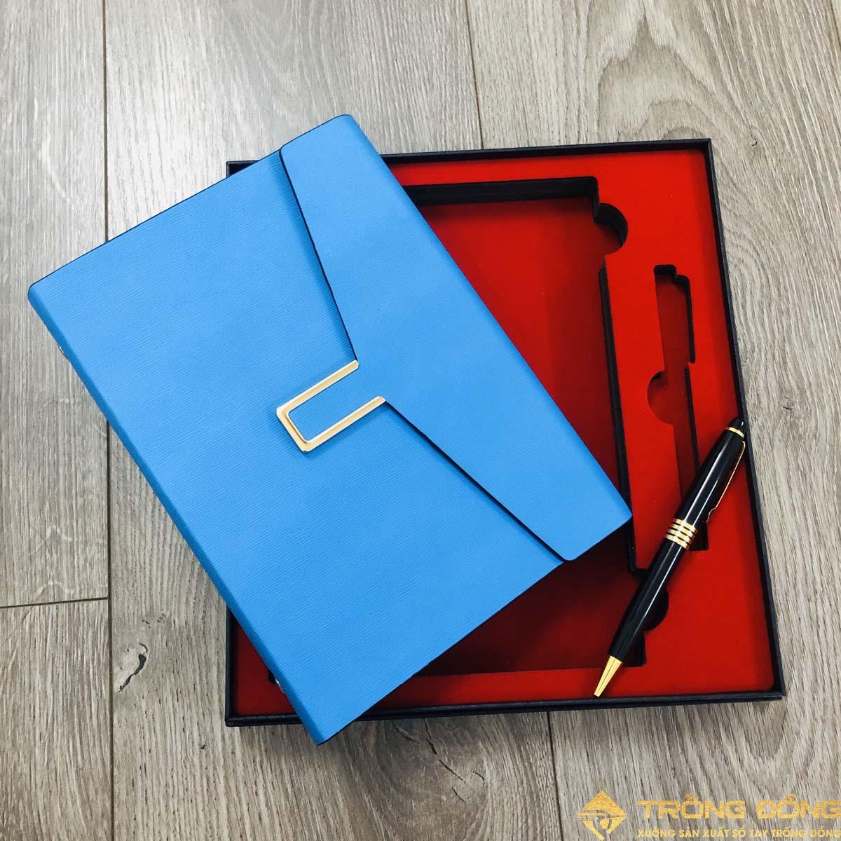 Bộ Giftset sổ tay và bút ký quà tặng mẫu LSA5 BAO THƯ 1B