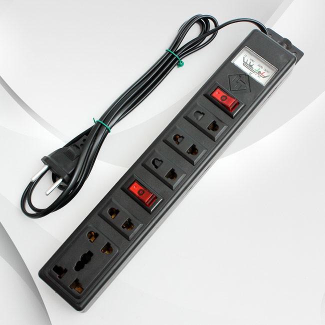 Trang bị ổ cắm điện đảm bảo nguồn cung cấp điện cho các thiết bị khác của bạn được ổn định