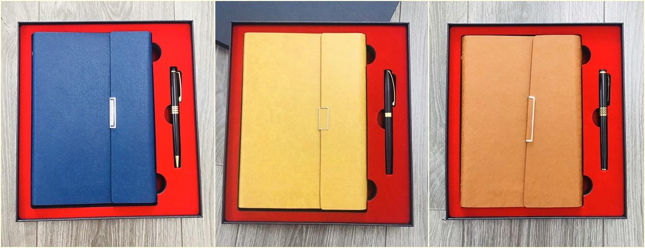 Bộ quà tặng sổ tay và bút viết giá rẻ